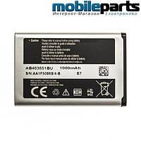 АКБ батарея АА STANDART SAMSUNG S3650 / AB463651BU  1000mAh