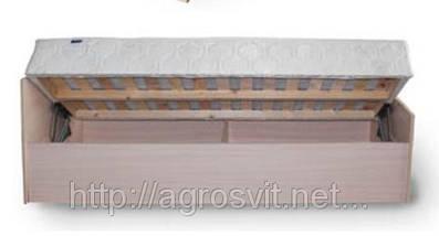Кровать односпальная с каркасным матрасом на подъемном механизме , фото 2
