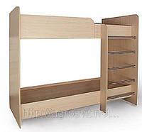 Двухъярусная детская кровать Кроха №6