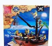 Брик Пиратский корабль 306
