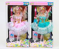 Шарнирная Susy 2702 кукла балерина: 2 вида, с аксессуарами, в коробке 15х5,5х33,5см