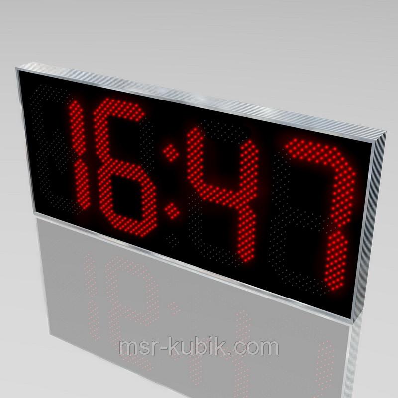 Світлодіодні годинник з великим оглядом мм 1850х800