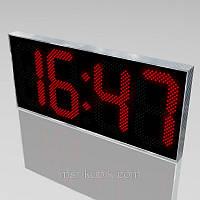 Светодиодные часы с большим обзором 1850х800 мм