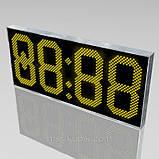 Світлодіодні годинник з великим оглядом мм 1850х800, фото 2