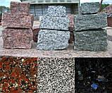 Гранитная брусчатка, бордюр ,плитка из гранита, фото 2