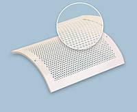 Решетка вентиляционная алюминиевая декоративная изогнутая РДи