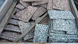 Гранитная брусчатка, бордюр ,плитка из гранита, фото 7