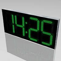 Светодиодные уличные часы с термометром 2000х900 мм