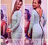 Облегающее платье с крупной молнией на спине (разные цвета), фото 7