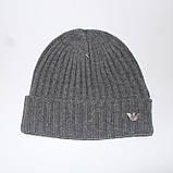 Разные цвета ARMANI шапки вязаные для взрослых и подростков шапка хлопок армани, фото 4