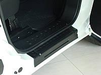 Накладки на пороги Fiat Doblo 2010>