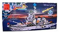 Конструктор Брик Военный корабль 112