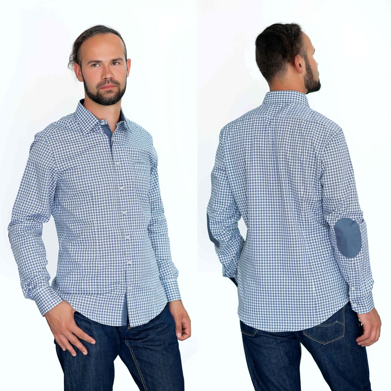 c97b09bf7b2 Рубашка мужская серая