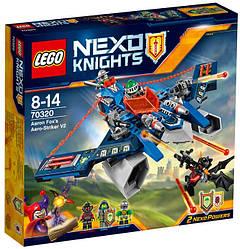 Lego Nexo Knights Аэро-арбалет V2 Аарона Фокса 70320