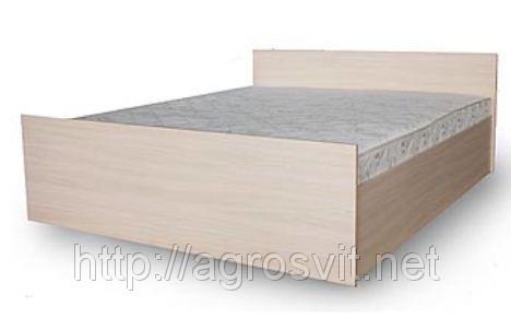 Кровать двухспальная с каркасным матрасом на подъемном механизме