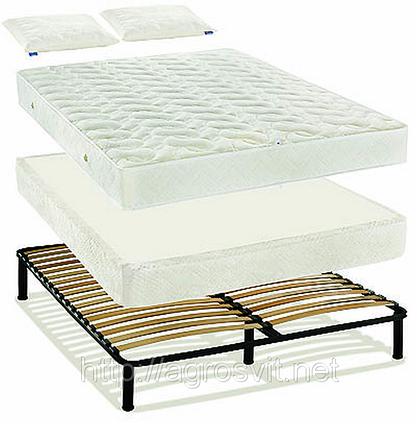 """Система для сна  """"Простое решение"""" № 2 или каркас-кровать на буковых ламелях , фото 2"""