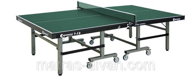 Профессиональный теннисный стол Sponeta S 7-12 master compact - Матрас Диван - мебельный интернет магазин в Киеве