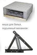 Кровать двухспальная с каркасным матрасом на подъемном механизме , фото 3