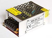 Блок питания для светодиодной ленты 12в 36вт LEDLIGHT IP20 compact