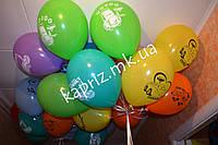 Облако из 25 шаров для мальчик с героями мультика Тачки