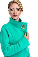 Демисезонное Женское кашемировое пальто приталенного силуэта Модель Анна