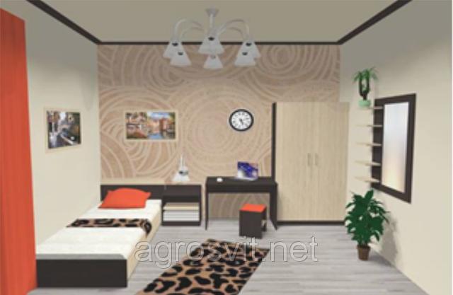 Спальня Верона односпальный комплект, фото 2