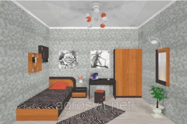 Спальня Флоренция односпальный комплект, фото 2