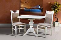 Стол обеденный Триумф  белый (1050(+400)*750 ), фото 1