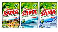 SAMA  400г стиральный порошок ручная стирка. безфосфатный