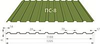 Профнастил ПС-8 цинк 0,35