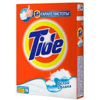 TIDE 450г стиральный порошок автомат. белые облака
