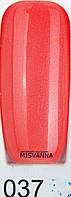 Гель лак Global Fashion, 15 мл №37 Арбузный с микро блеском
