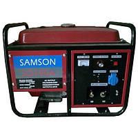 Бензинный сварочный генератор SAMSON  SQ-190A (ток 210А, 2,5 кВт, ручной старт)