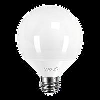 Светодиодная лампа Maxus 1-LED-903 (15W E27 3000K G95)