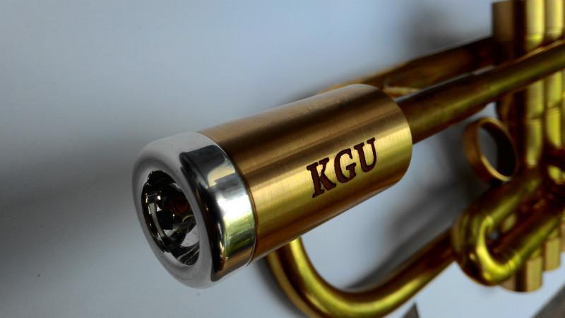 """Бустер для трубного мундштука KGUBrass Heavy (Raw Brass) - Магазин музыкальных инструментов """"Mayak-music"""" в Белой Церкви"""