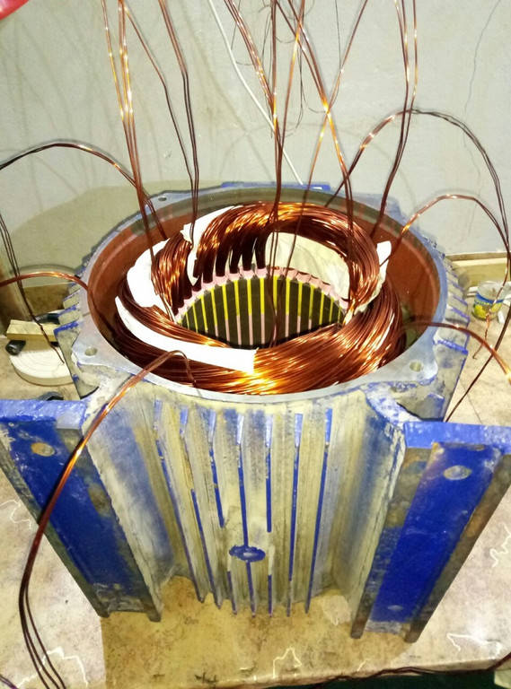Перемотка электродвигателя 30 кВт
