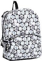 "Волшебный рюкзак ""Бриллианты""  20 л MOJO КАА9984513, цвет серый мульти с LED светом"