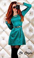 """Платье """"Татьянка"""" из объемного трикотажа, фото 1"""