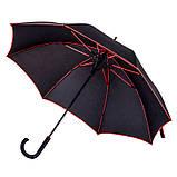 Зонт с цветной каймой и спицами, фото 5