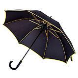 Зонт с цветной каймой и спицами, фото 6