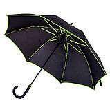 Зонт с цветной каймой и спицами, фото 9
