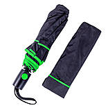 Складаний напівавтоматичний парасольку, фото 10