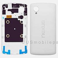 Задняя крышка для LG D821 Google Nexus 5 (White) Original
