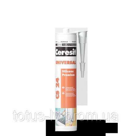 Универсальный силиконовый эластичный герметик CS 24 Ceresit