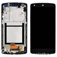 Дисплейный модуль в сборе с рамкой для LG Google Nexus 5 D821 (D820, D822) (Black) Original