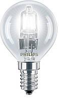 Лампа галогенная philips e14 28w 230v p45 cl ecoclassic (925648044201)