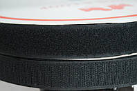 Контактная лента липучка черная
