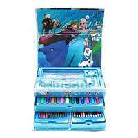 """Набор для рисования 54 предмета """"Frozen"""" (сундучек)"""