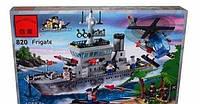 Конструктор   820 Брик Военный корабль