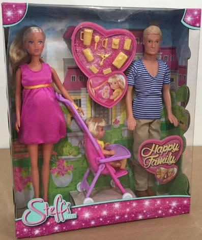 Кукла Steffi Счастливая Семья Simba 5733200, фото 2